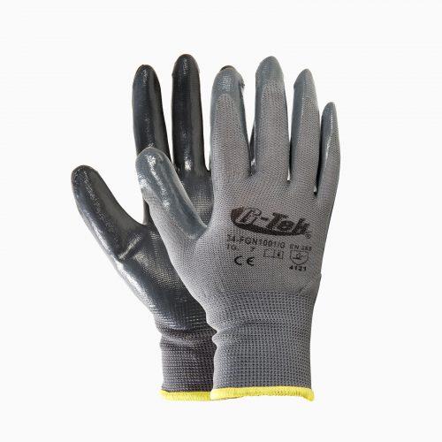 13-202030915 Γάντια Nylon/Nitrile γκρι.