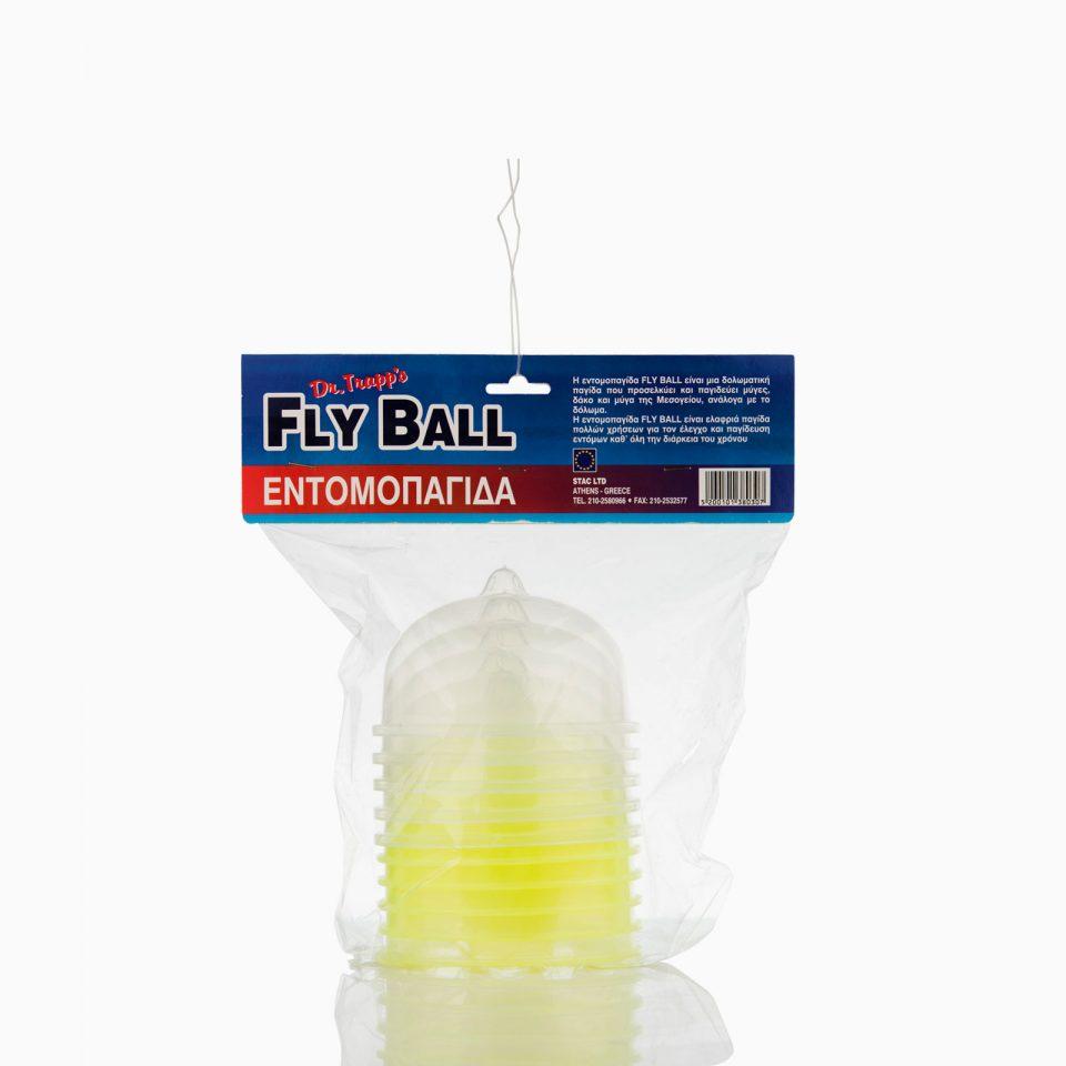 Πλαστική παγίδα χωρίς ελκυστική ουσία. Δέχεται νερό και προσελκυστική ουσία για δάκο, μύγα οικιακή, μύγα μεσογείου και σφήκα.
