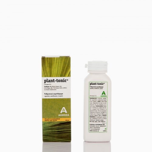 PLANT-TONIC-100 Ρυθμιστικό συμπλήρωμα υψηλής απόδοσης για καρπόδεση, βλάστηση, αύξηση καρπού, πρωϊμηση.